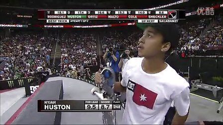 2012 Street League 总决赛 Nyjah Huston个人视频