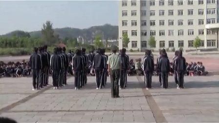 27.丹东市民族学校2012级新生军训队列比赛-8月29日