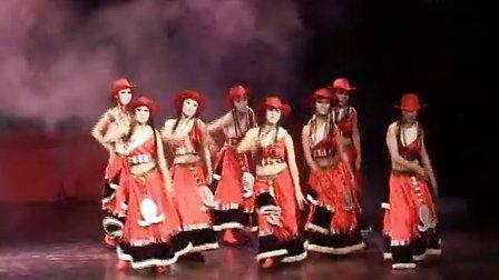 舒曼舞蹈2012校庆之女子群舞溜溜的康定