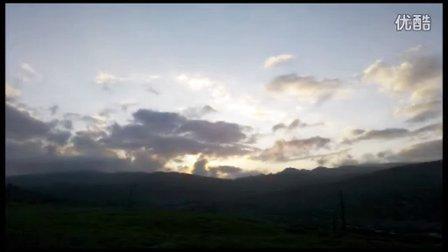 第一次接触延时摄影(手机拍摄)。短短的20多秒。地点:稻城海子山