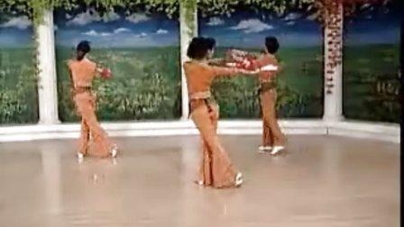 天地人双扇健身舞