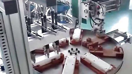 螺丝机系列:电源排插机芯在线自动打螺丝机视频