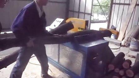 圆木断料机 截断机械 原木截断机 正启机械