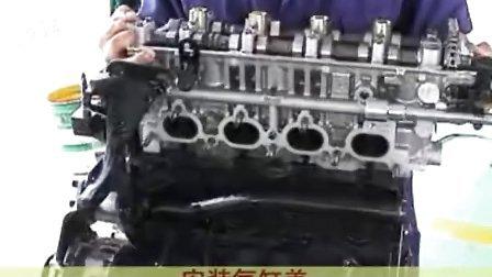 汽车修理技术-汽车修理视频-汽车修理视频教程-现代汽车电喷维修技术-发动机整体的安装