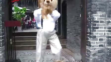泰迪熊艺术秀[汇说天下]