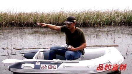 【品钓】三郎陪你玩路亚第二季第五集《针对新手玩家》:水滴轮鼓轮抛投的基础练习讲解