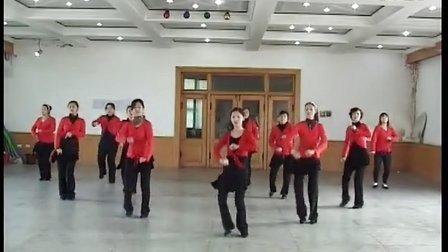 静水微澜大森林广场舞《练舞功》