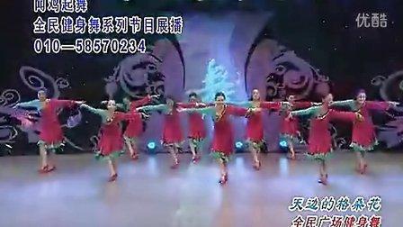 応子广场舞 天边的格桑花 正面 上传 飘舞