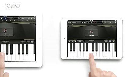 iPad mini钢琴广告_tan8.com