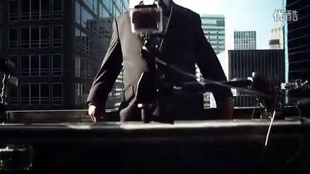 Ultimat伏特加营销《高空宣传》