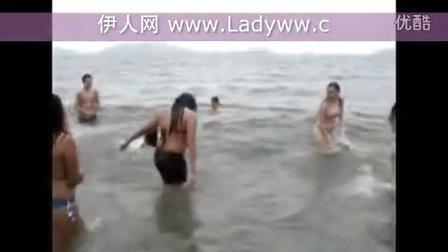 美女、男人与海