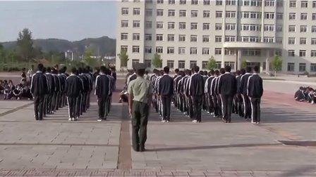 25.丹东市民族学校2012级新生军训队列比赛-8月29日
