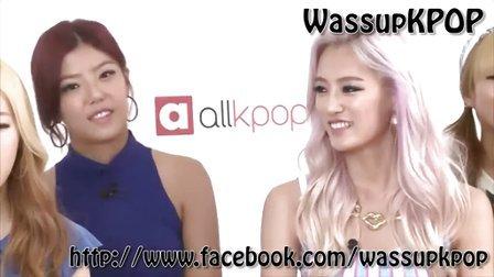 【擦边】Wassup的Nari 在allkpop采访中说最敬仰的前辈是Kahi