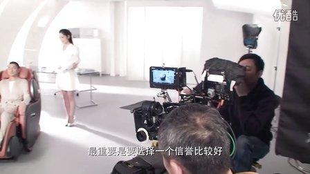 刘德华拍摄OSIM天王之王按摩椅TVC幕后花絮