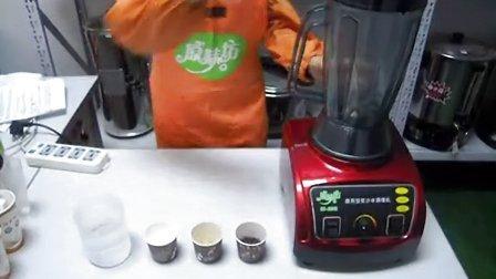 红豆豆浆 烘焙红豆豆浆 现磨豆浆做法  原味坊现磨豆浆技术