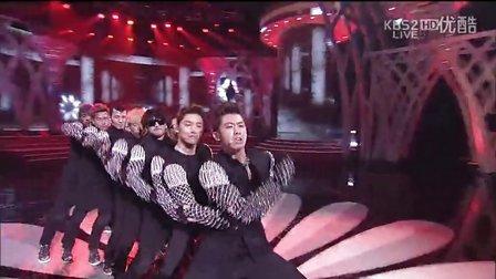 [KBS2]20121230 韩国第49届大钟电影节 东方神起Catch Me 表演