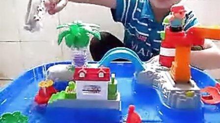 阳光宝贝屋:童梦园 水上乐园 夏日戏水游戏桌玩具_标清