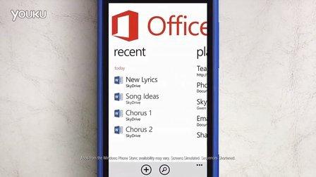 Meet Gwen. See her Windows Phone.