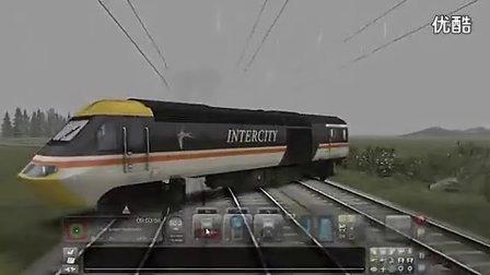 模拟火车2013 国外玩家是这么玩漂移的!太强悍了!