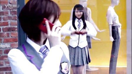 乃木坂46 CM HTC J au ISW13HT 激写サバゲー ♪おいでシャンプー 30s