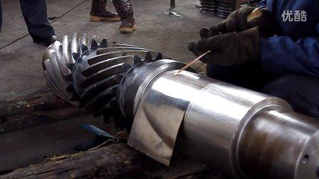 冷焊机修复轴视频捷利特冷焊机修复0371-63311948