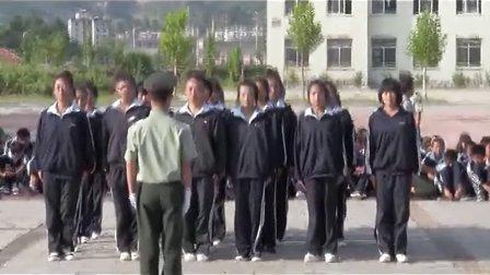 26.丹东市民族学校2012级新生军训队列比赛-8月29日