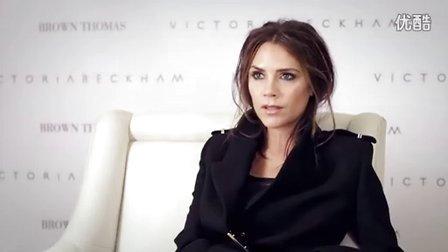【20120718】维多利亚贝克汉姆在爱尔兰都柏林宣传VB品牌  接受采访