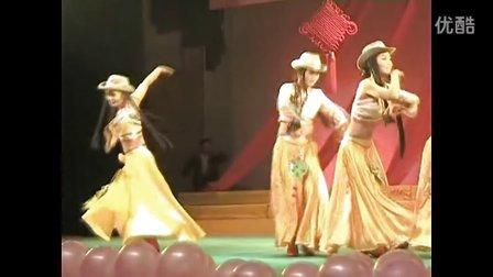 安福三中辉煌的2009年元旦文艺汇演