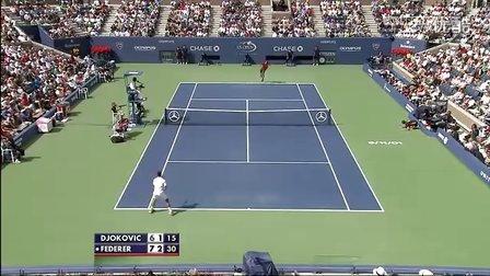 2011 美网半决赛 费德勒vs德约科维奇