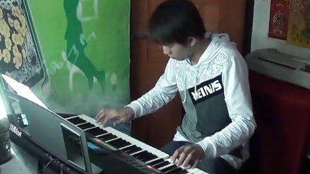 伤不起DJ版 电子琴演奏 心乐琴韵_阿荣(音乐)