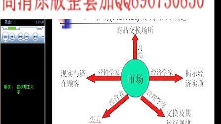 武汉理工大学 汽车营销与技术服务 全39讲 全套视频教程下载加QQ896730850
