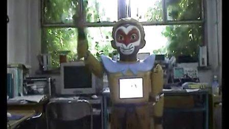 迎宾互动机器人-悟空--博乐机器人表演