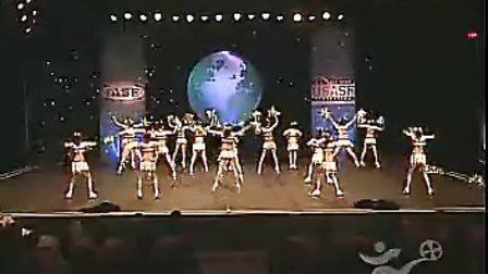 2007年世界啦啦队舞蹈花球组比赛