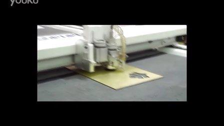 铝塑板铣刀切割
