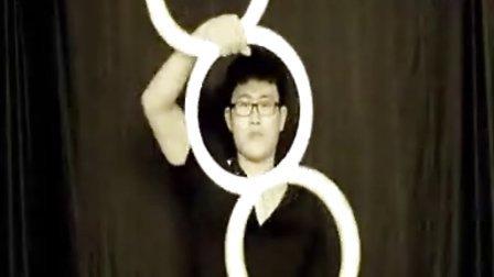 易术吧创意节目【魔环】视觉艺术表演