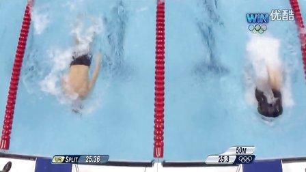 高清720P 菲鱼最后一战 伦敦奥运男子4X100米混合泳接力决赛