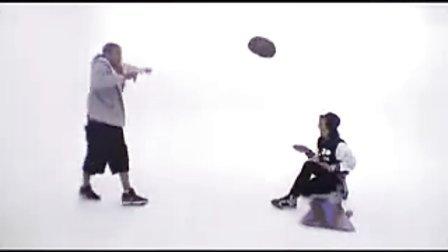 Chris Brown &  Adam G Sevani(舞出我人生系列主演)舞步切磋
