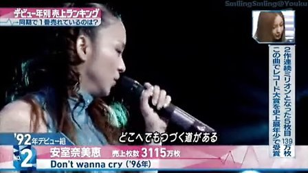 121005 M.S出道期别销量榜SP④87组-92组-80组-嵐LIVE