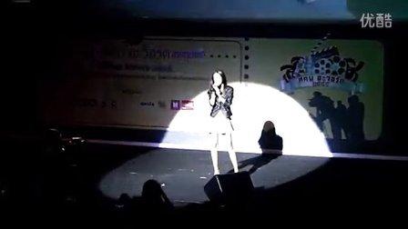 min唱爱不需要时间พีชญา  พารากอน 29_08_2012