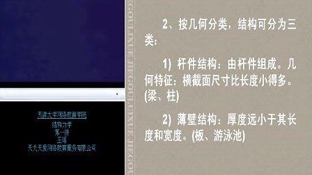天津大学 结构力学 80讲 上册 整套联系Q896730850