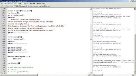 Lecture 9 (课程9) - open read write 输入输出文件的操作