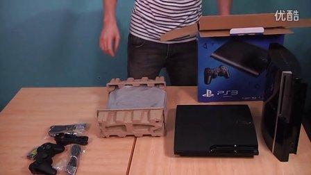 电玩巴士新型超薄PS3Super Slim开箱影像