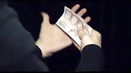 2014春晚YIF魔术[团圆饭]中变面包变钱魔术教学揭秘