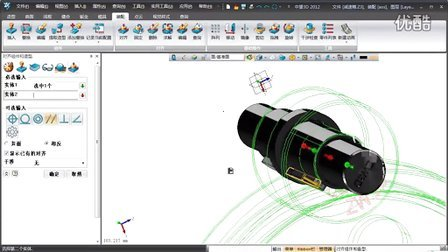 中望CAD三维视频教程,3D三维机械视频 4.装配