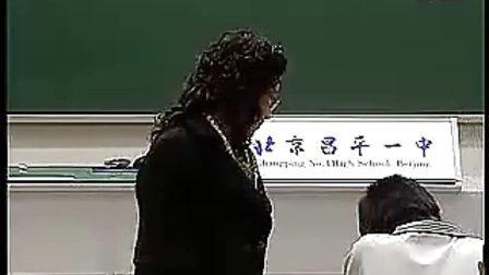 高中物理人教版新课标必修一牛顿第二定律课堂实录教学视频 1