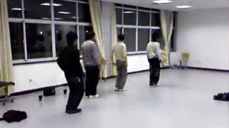 09年精荆舞门排练,怀念