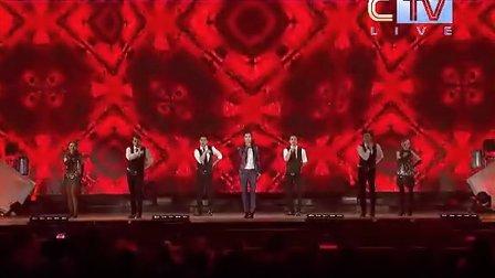 超超卫视MAMA》2012MNET亚洲音乐盛典亚洲年度艺人李宇春现场表演