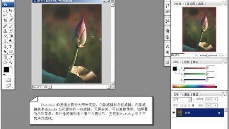 育碟软件 Photoshop CS3 案例 滤镜特效