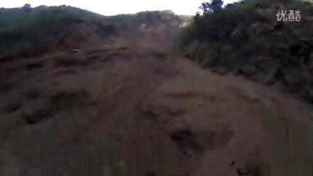 快速通过落石危险区