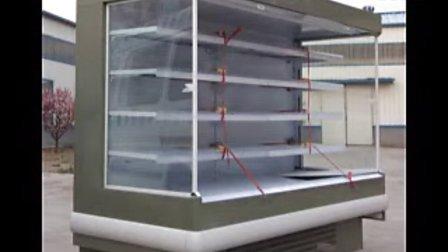 豪华超市立风柜,水果蔬菜保鲜风幕柜